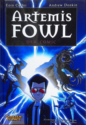 Cover - Artemis Fowl - Der Comic