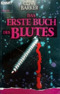 Cover - Das erste Buch des Blutes
