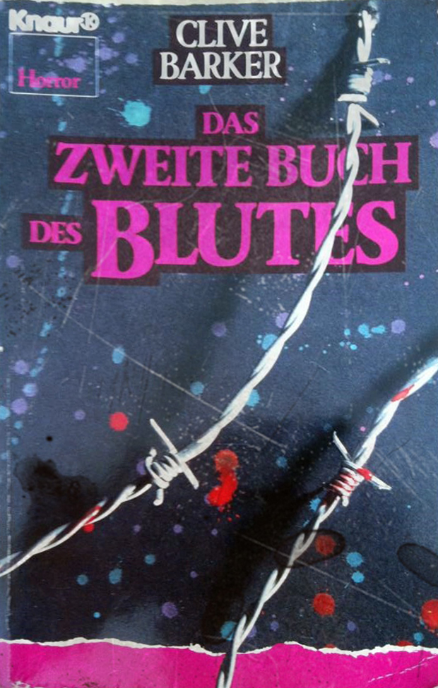 das zweite buch des blutes clive barker rezension thefallingalice. Black Bedroom Furniture Sets. Home Design Ideas