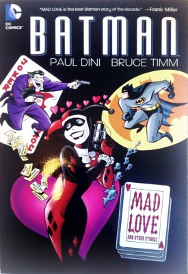 Cover - Batman: Mad love and other stories