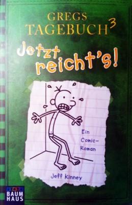 Cover Gregs Tagebuch³ - Jetzt reicht's !