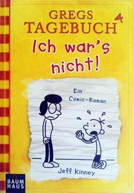 Cover - Gregs Tagebuch 4 - Ich war's nicht!