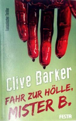 Cover - Fahr zur Hölle, Mister B.