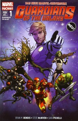 Cover - Guardians of the Galaxy Bd. 1 - Space Avengers